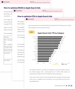 How to Optimize Performance in Apple Search Ads by SearchAdsHQ
